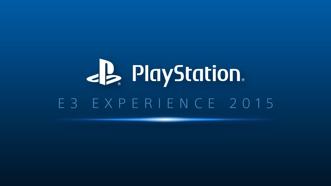 PlayStation 4 Sony E3 2015